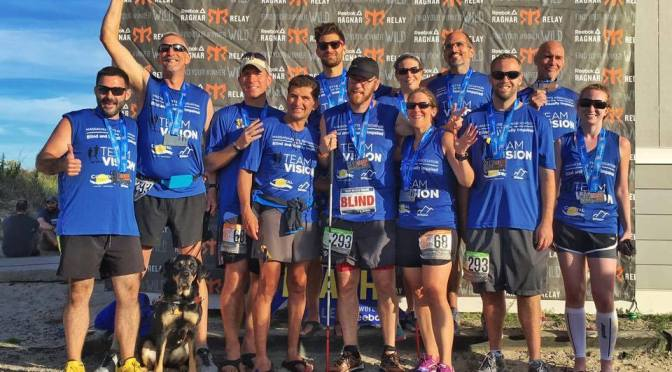 Teamwork, Resiliency Propel Team With A Vision Ultra Squad to Ragnar Finish Line