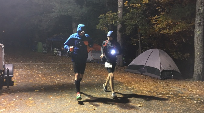 Scary-Fast: Caron Haunts Ghost Train Record Book with Sub-15-Hour 100-Miler