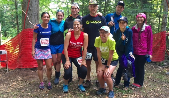 Robidoux Runs 100: Teamwork, Tenacity Propel Runner with Visual Impairment at VT100