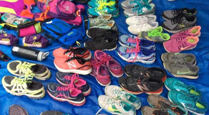 Runners Pile Up Shoes, Miles at Free to Run