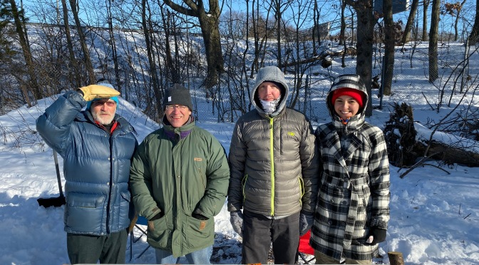 Volunteers, Runners Dig Deep at Frigid, Snow-Packed Fells Winter Ultra